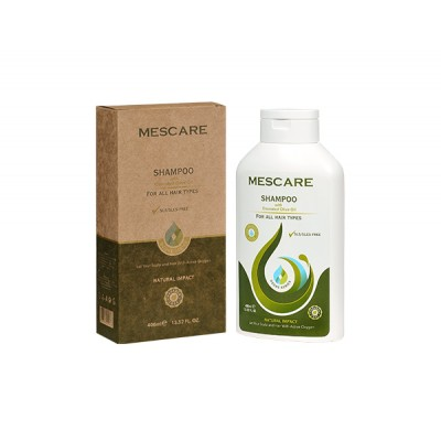 Mescare - Ozonlu Natural Şampuan 400ml